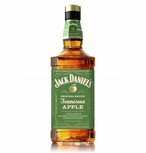 Jack Daniel's Original Recipe Tennessee Apple Whiskey Perspective: front
