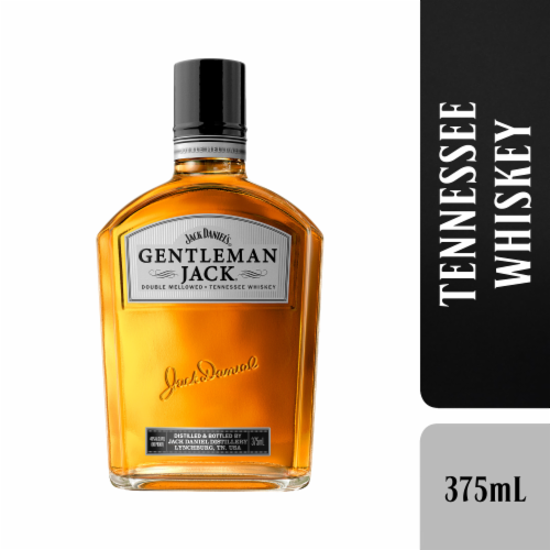 Jack Daniel's Gentleman Jack Double Mellowed Tennessee Whiskey Perspective: front