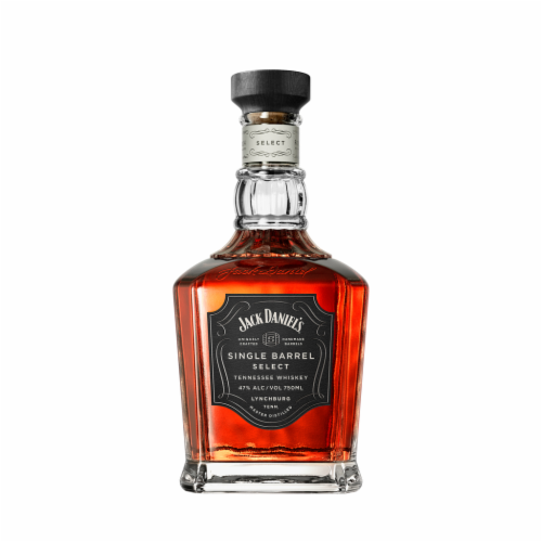 Jack Daniel's Single Barrel Select Tennessee Whiskey Perspective: front