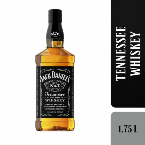 Jack Daniel's Old No. 7 Tennessee Whiskey Perspective: front