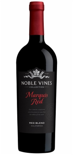 Noble Vines Marquis Red Blend Wine Perspective: front