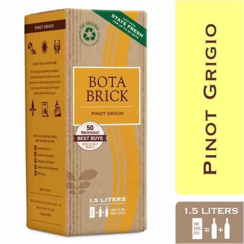 Bota Brick Pinot Grigio White Wine Perspective: front