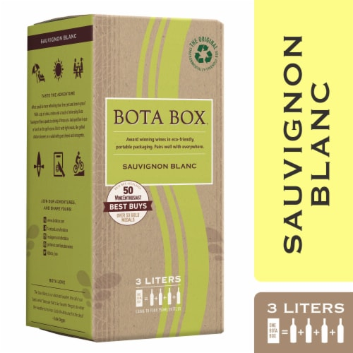 Bota Box Sauvignon Blanc White Wine Perspective: front