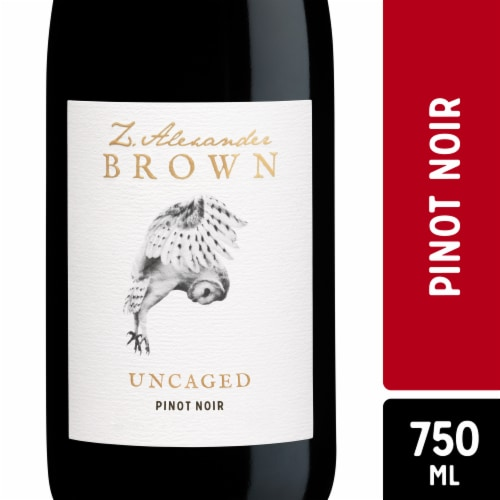Z. Alexander Brown Pinot Noir Red Wine Perspective: front