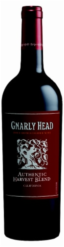 Gnarly Head Authentic Harvest Blend Red Wine Perspective: front