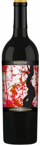 Bold Vine Cabernet Sauvignon Red Wine Perspective: front