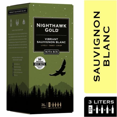 Bota Box Nighthawk Gold Vibrant Sauvignon Blanc White Wine Perspective: front