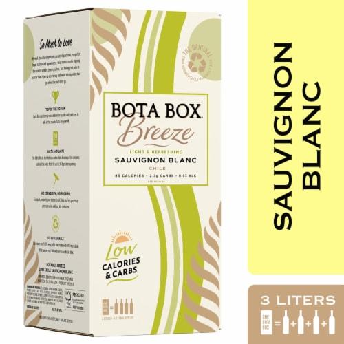 Bota Box Breeze Sauvignon Blanc White Wine Perspective: front