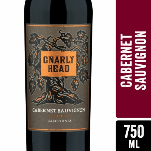 Gnarly Head Cabernet Sauvignon Red Wine Perspective: front