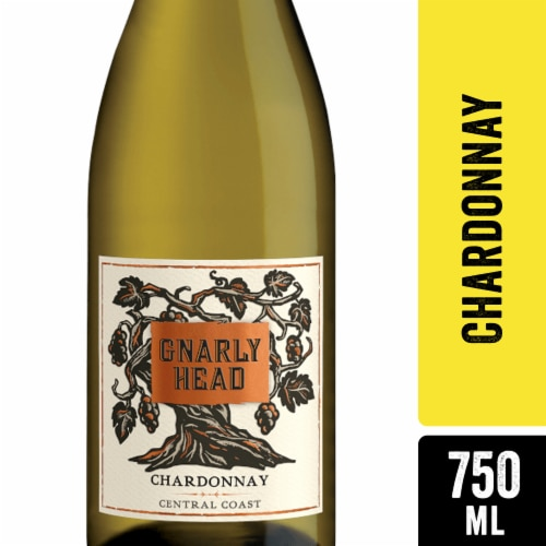 Gnarly Head Chardonnay White Wine Perspective: front