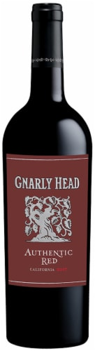 Gnarly Head Red Blend Wine Perspective: front