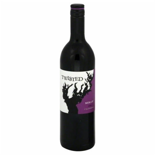 Twisted Merlot Perspective: front