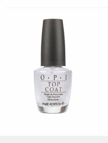 OPI Top Coat Nail Lacquer Perspective: front