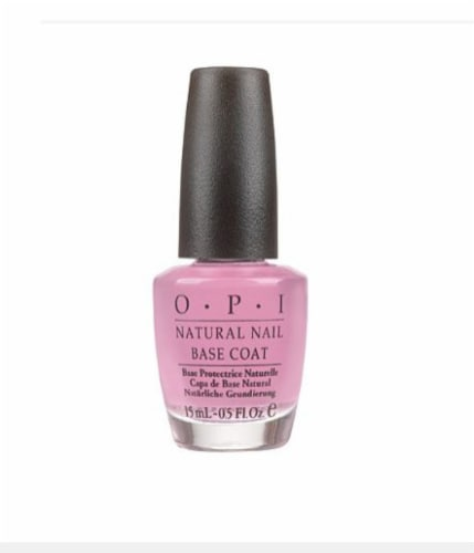 OPI Natural Nail Base Coat Nail Lacquer Perspective: front