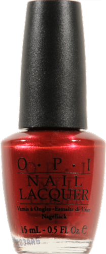 OPI I'm Not Really A Waitress Nail Lacquer Perspective: front