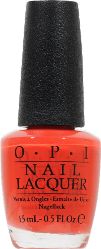 OPI Cajun Shrimp Nail Lacquer Nail Polish Perspective: front