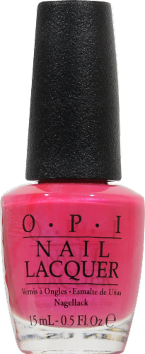 OPI L.A. Pazitively Hot Nail Lacquer Perspective: front