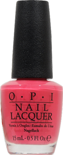 OPI Strawberry Margarita Nail Lacquer Perspective: front