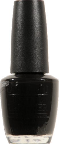 Opi Black Onyx Nail Lacquer Perspective: front