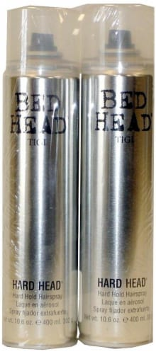 Bed Head Hard Head Hair Spray Perspective: front