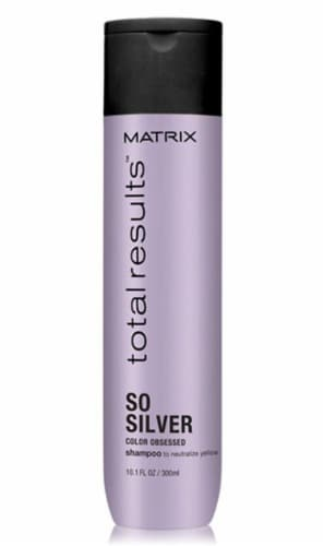 Matrix Total Results Color Obsessed So Silver Shampoo Perspective: front