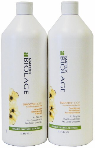 Matrix Biolage Smooth Shampoo and Conditioner Perspective: front