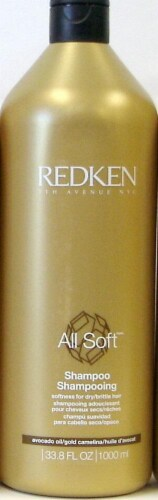 Redken All Soft Shampoo Perspective: front