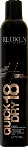 Redken Quick Dry Hairspray Perspective: front