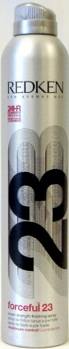 Redken Forceful 23 Super Strength Finishing Spray Perspective: front