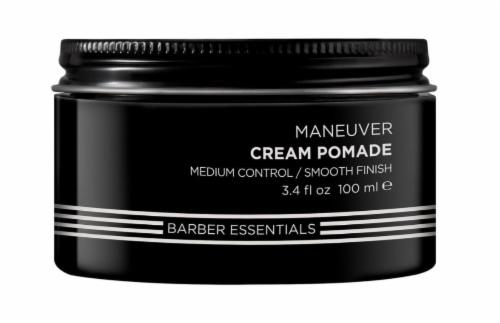 Redken Brews Men's Maneuver Cream Pomade Perspective: front