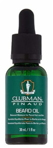 Clubman Pinaud Beard Oil Perspective: front