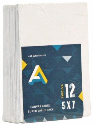 Art Alternatives Canvas Panel Super Value Pack - 12 Pack Perspective: front