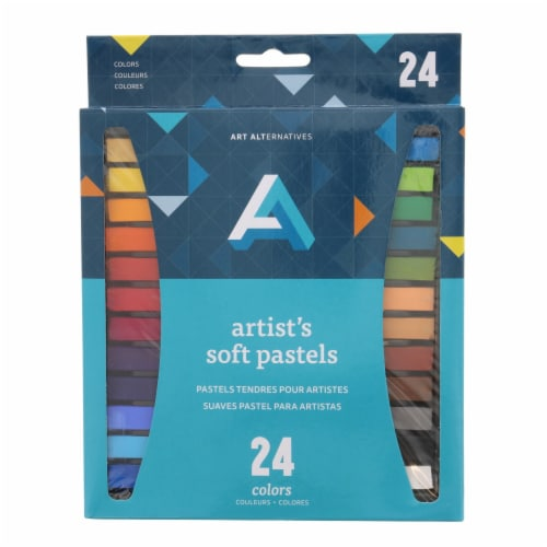 Art Alternatives Artist's Soft Pastel Set Perspective: front