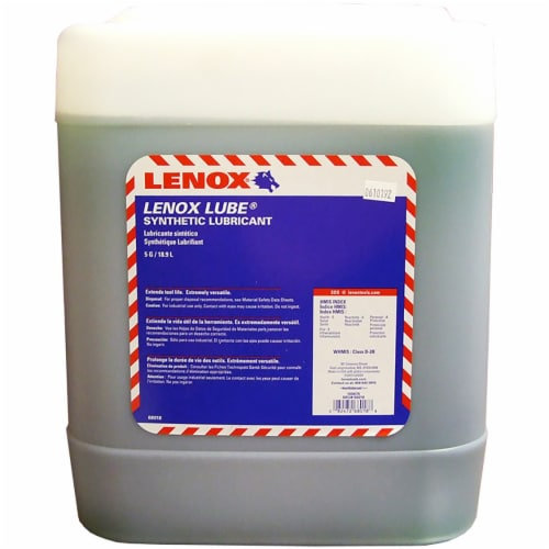 Lenox Lube® Band Saw Lubricant 5-gallon Perspective: front