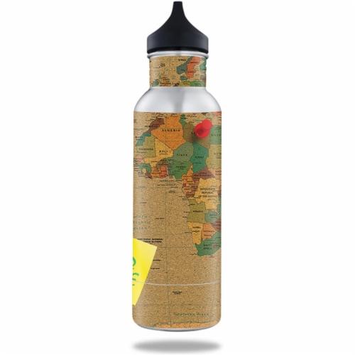 MightySkins BOKE12ST-World Peace Skin for BottleKeeper 12 oz Standard Wrap Cover Sticker - Wo Perspective: front
