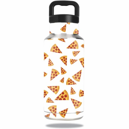 MightySkins OZBOT36-Body By Pizza Skin for 36 oz Ozark Trail Water Bottle, Body by Pizza Perspective: front