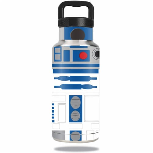 MightySkins OZBOT36-Cyber Bot Skin for 36 oz Ozark Trail Water Bottle, Cyber Bot Perspective: front