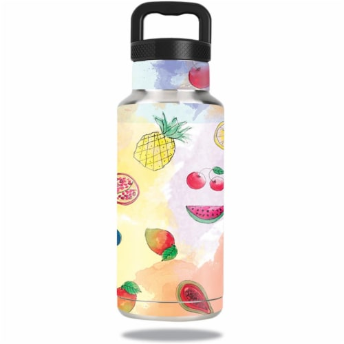 MightySkins OZBOT36-Fruit Water Skin for Ozark Trail Water 36 oz Bottle Wrap Cover Sticker - Perspective: front