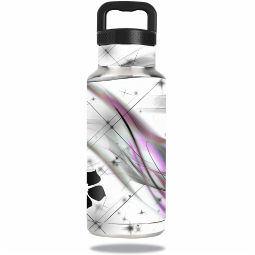 MightySkins OZBOT36-Gray World Skin for Ozark Trail Water 36 oz Bottle Wrap Cover Sticker - G Perspective: front