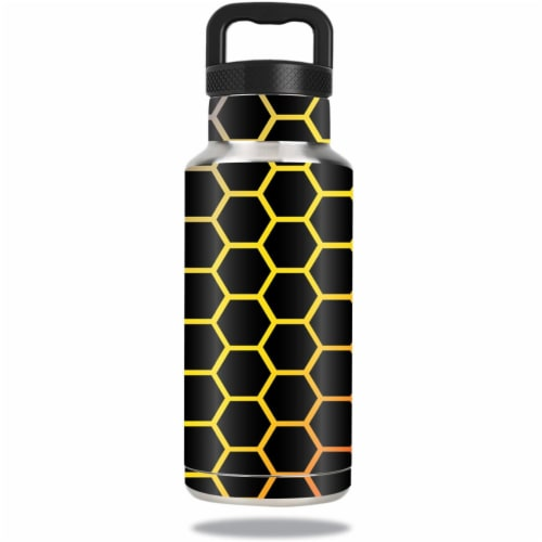 MightySkins OZBOT36-Primary Honeycomb Skin for Ozark Trail Water 36 oz Bottle Wrap Cover Stic Perspective: front