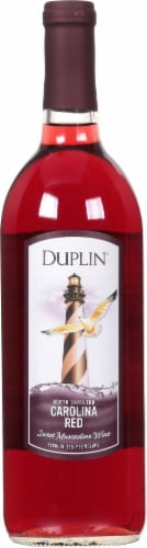 Duplin Carolina Red Sweet Muscadine Perspective: front
