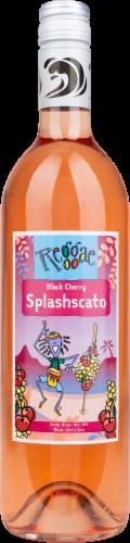 Easley Winery Black Cherry Splashcato Wine Perspective: front