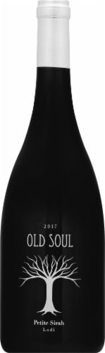 Old Soul Petite Sirah Perspective: front