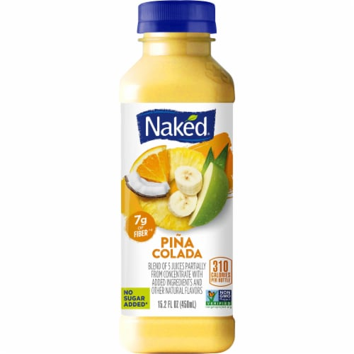 Naked Juice Pina Colada Fruit Juice Smoothie Perspective: front