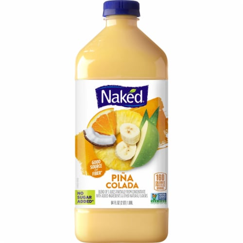 Naked Pina Colada Juice Blend Perspective: front