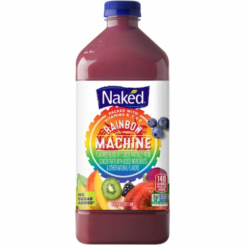Naked Rainbow Machine Juice Blend Perspective: front