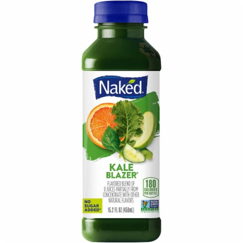 Naked Juice Fruit and Veggie Juice Kale Blazer Perspective: front