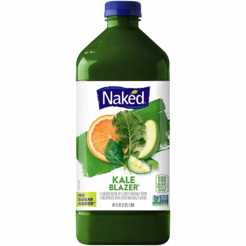 Naked Juice Kale Blazer Fruit and Veggie Juice Perspective: front