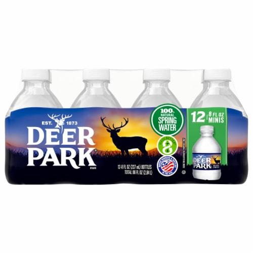 Deer Park Natural Spring Water Perspective: front