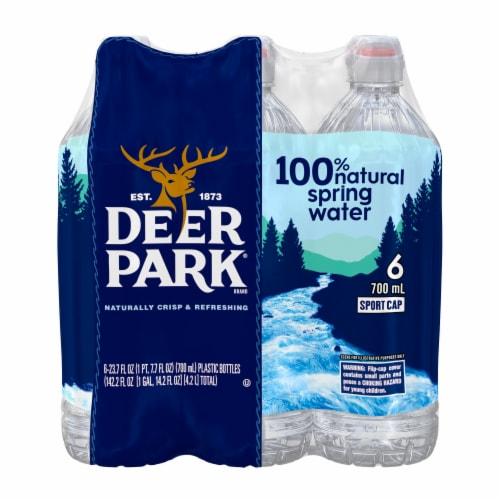 Deer Park Spring Water Case Perspective: front